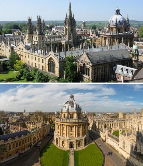 3. Оксфордский университет (Великобритания) Это, пожалуй, самый известный и узнаваемый университет мира, который уже более 500 лет выпускает специалистов высочайшего уровня. Его корпуса, в которых расположены 39 колледжей, считаются настоящими шедеврами архитектуры эпохи Возрождения и доступны не только для студентов. Сюда вход открыт и для всех тех, кто желает посмотреть столь величественный комплекс, состоящий из не только из учебных помещений, но и краеведческого и исторического музеев, огромной библиотеки и самых роскошных ботанических садов Англии.
