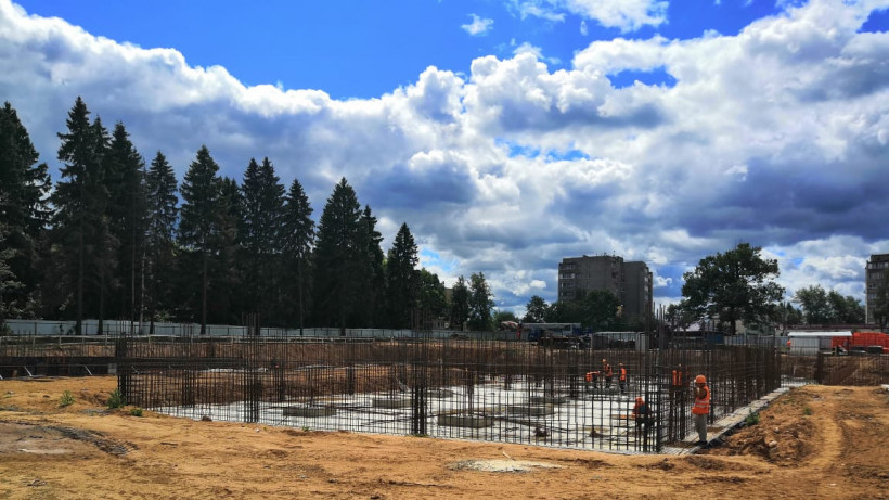 Школу на 550 мест в Рузском городском округе планируют закончить строить в 2020 году