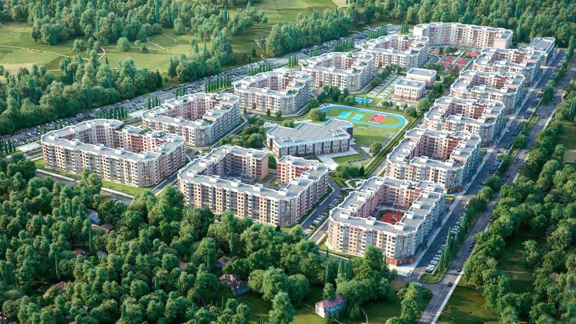 Школу на 600 мест построят в жилом комплексе в Мытищах в 2021 году