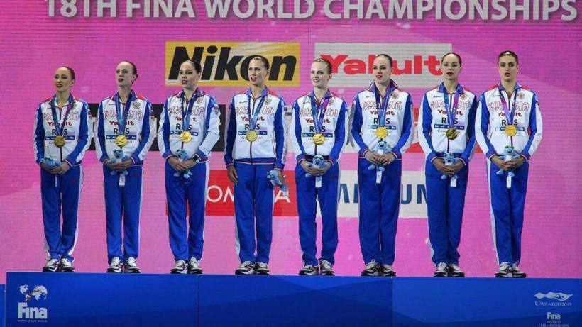 Спортсменка из Подмосковья стала чемпионкой мира по синхронному плаванию