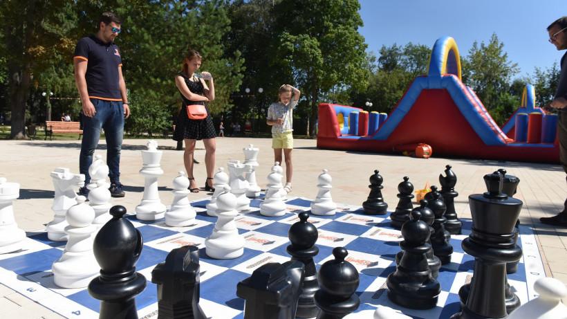 Столы для настольного тенниса и шахмат установят в городских парках Подмосковья