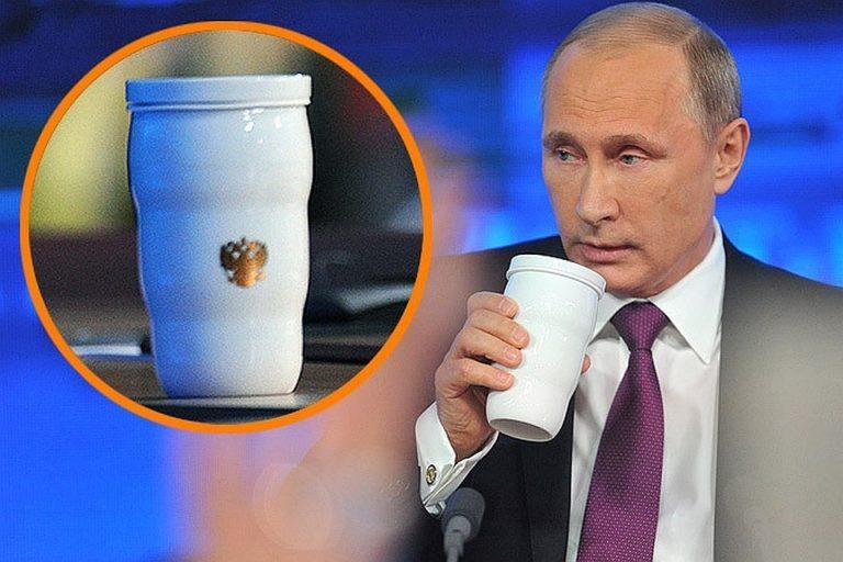 Термокружка «как у Путина» побила рекорд продаж в Китае