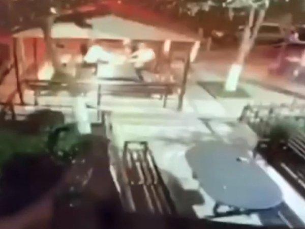 Убийство вора в законе Андо Хромого попало на видео