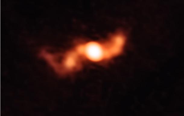 Ученые впервые сняли «пропеллер» микроквазара