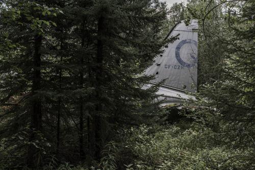 Самолет Кёртисс-Райт C-46 «Коммандо», который разбился в сентябре 1977 года в провинции Манитоба, Канада.