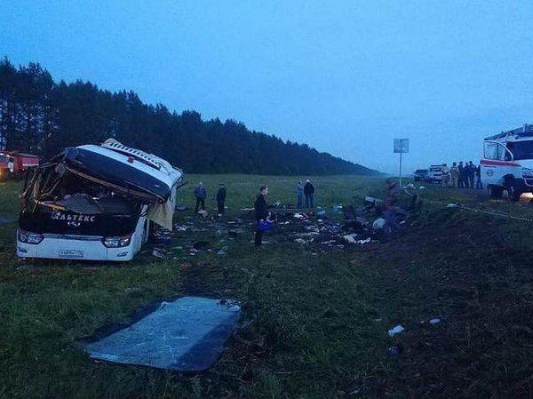 В ДТП с автобусом в Башкирии погибли 6 человек