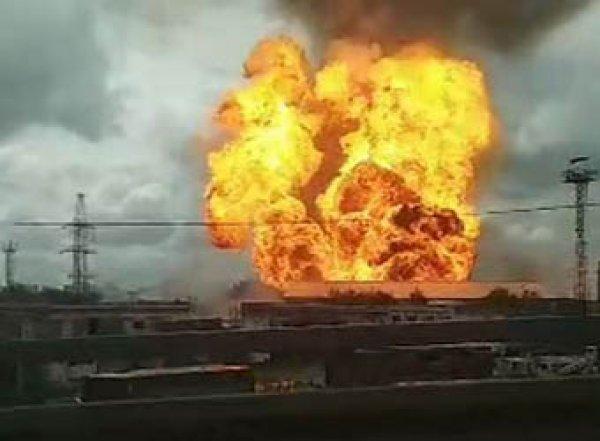 В Мытищах прогремел страшный взрыв на ТЭЦ: столб огня поднялся на 50 метров