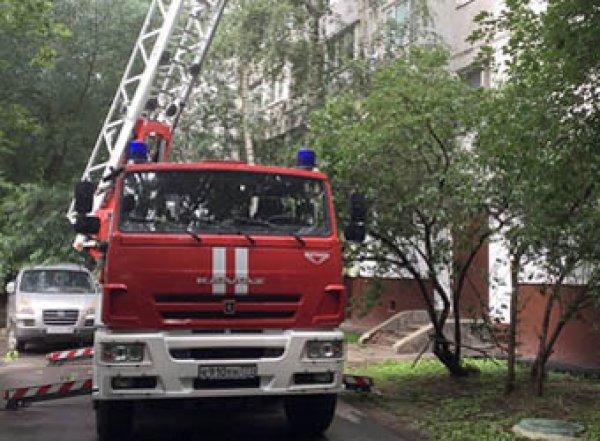 В жилом доме на северо-востоке Москвы произошел взрыв (ВИДЕО)