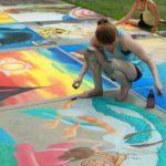 Вернисаж детских рисунков «Разноцветная палитра»