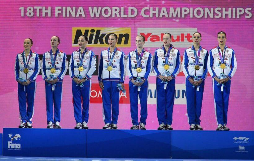 Вероника Калинина выиграла золото чемпионата мира по водным видам спорта