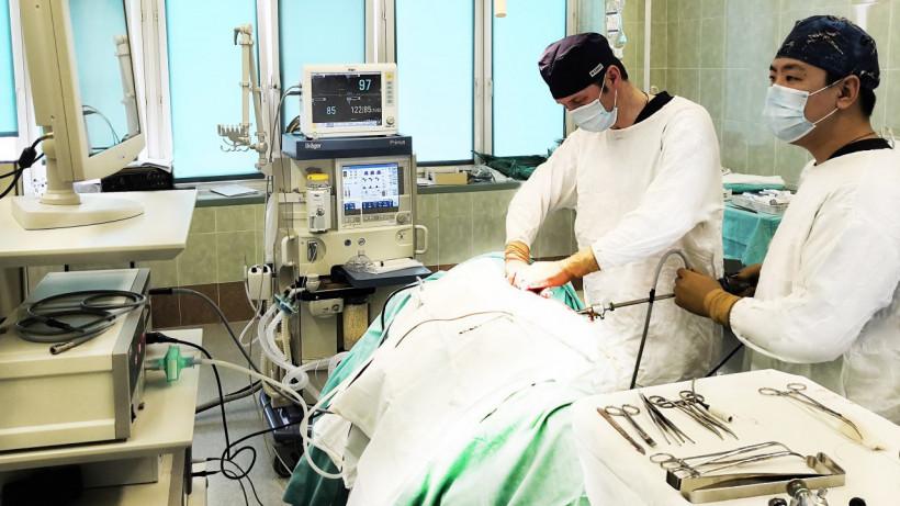 Врачи удалили 15-килограммовую опухоль пациентке в Сергиевом Посаде