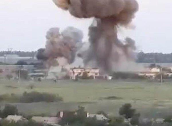 ВСУ показали уничтоженные «Змеем Горынычем» позиции под Донецком (ВИДЕО)