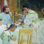Выставка «Семья в литературных произведениях»