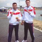 Золотая и серебряная медали на первенстве Европы по гребле на байдарках и каноэ