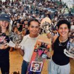 Золотая медаль на международных соревнованиях по скейтбордингу