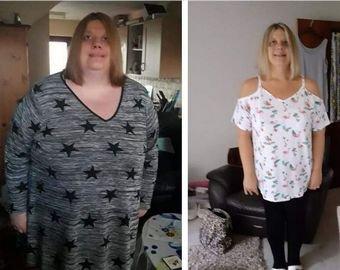 191-килограммовая женщина пожалела мужа и похудела вдвое