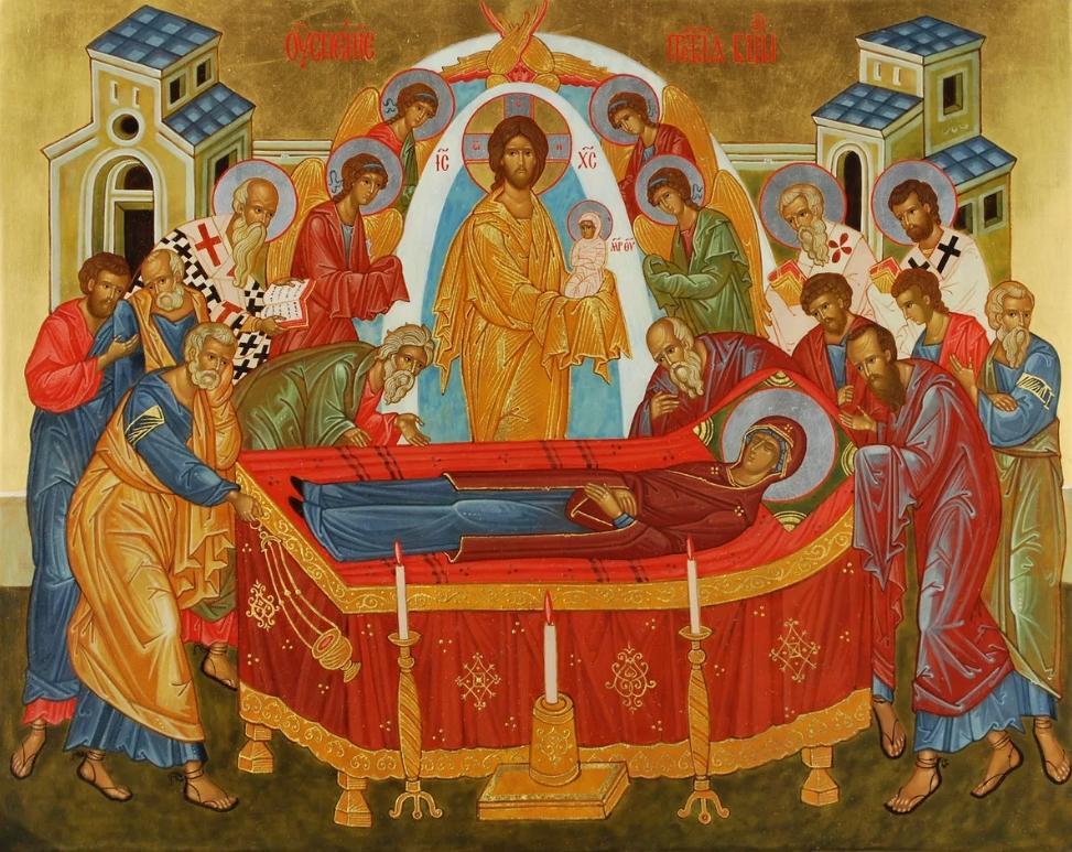 28 августа 2019 года отмечается Успение Пресвятой Богородицы