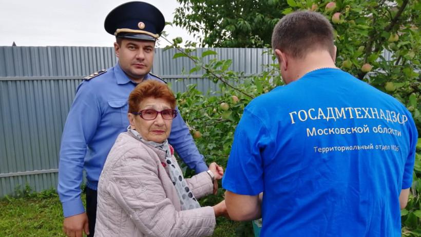 Акция «Тропинка к дому» помогла жителям Серпухова и Павловского Посада