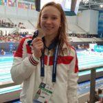 Анастасия Макарова завоевала два серебра первенства мира по плаванию