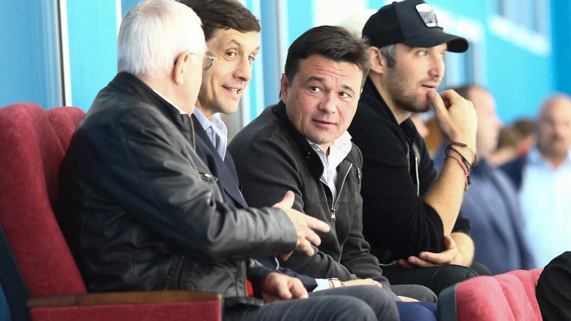 Андрей Воробьев дал старт финальному матчу «Кубка Александра Овечкина»