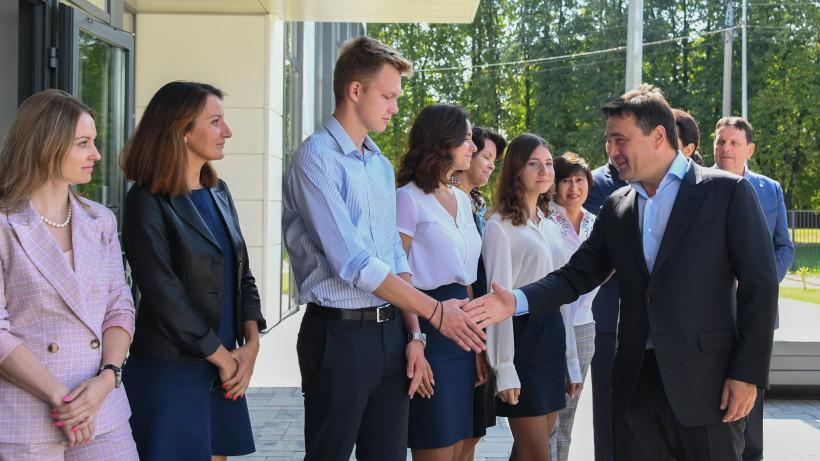 Андрей Воробьев и Анна Кузнецова открыли Московский областной хоспис в Домодедове