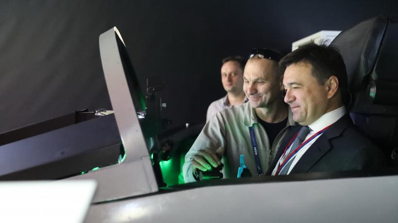 Андрей Воробьев принял участие в церемонии открытия авиасалона МАКС-2019