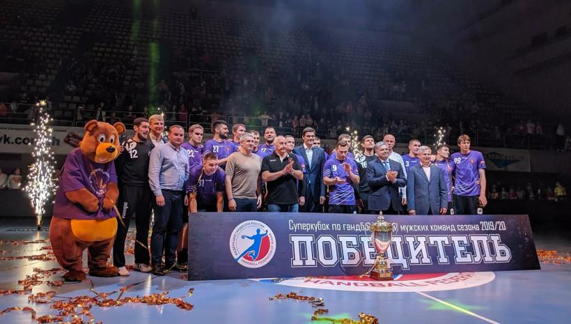«Чеховские медведи» стали обладателями Суперкубка России по гандболу в шестой раз