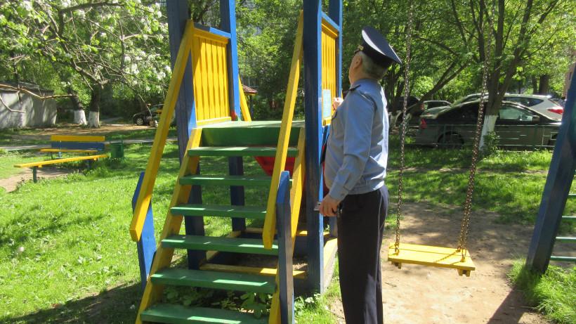Детские площадки в 13 округах Подмосковья привели в порядок за неделю