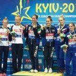 Екатерина Беляева и Юлия Тимошинина выиграли «бронзу» в синхронных прыжках с вышки на Чемпионате Европы