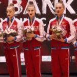 Гимнастка Мария Толкачева завоевала золото и серебро международного турнира