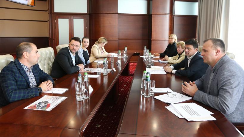 Губернатор обсудил с жителями городского округа Бронницы развитие муниципалитета