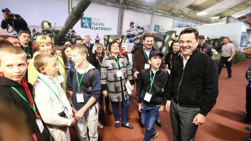 Губернатор посетил церемонию открытия V Армейских международных игр