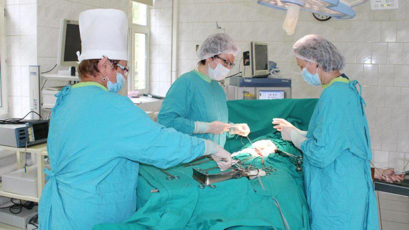 Хирурги удалили у пациентки опухоль весом 8 килограммов в Солнечногорске