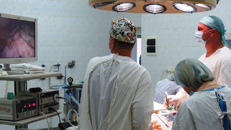 Хирурги в Ступине впервые провели санационную торакоскопию и спасли пациентку