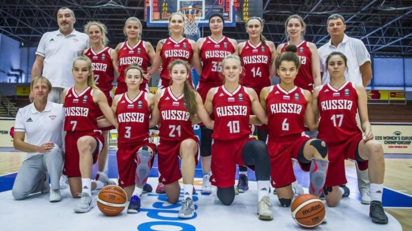 Юниорки из Подмосковья завоевали серебро первенства Европы по баскетболу
