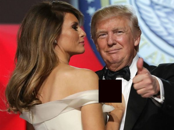 """""""Как собаку!"""": Трамп жестом подозвал к себе жену, возмутив Сеть"""