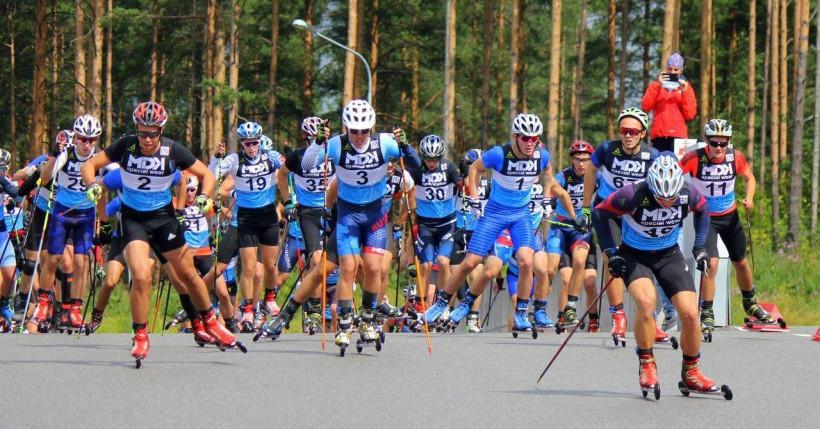 Команда Московской области завоевала серебро на первенстве России по лыжероллерам