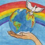 Конкурс детского рисунка «Дорога к миру»