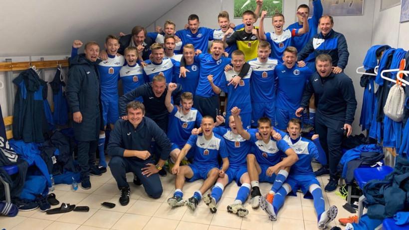 «Мастер-Сатурн» из Подмосковья победил в первой игре сезона юношеской футбольной лиги