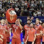 Мужская сборная России по волейболу завоевала путёвку на Игры XXXII Олимпиады 2020 года в Токио (Япония)