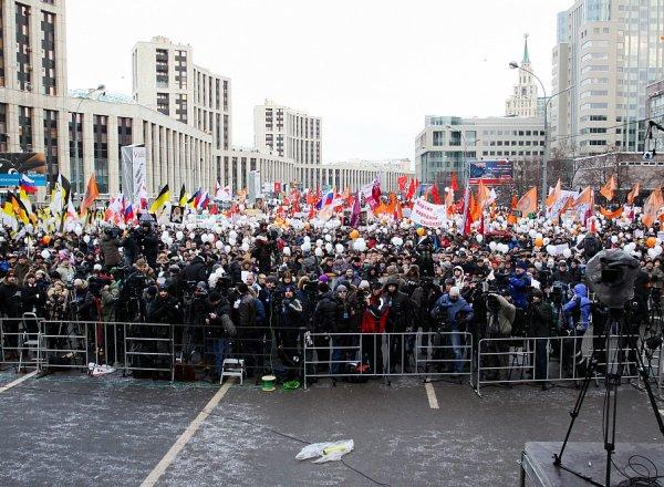 На митинг в Москве 10 августа пришло 50 тысяч человек