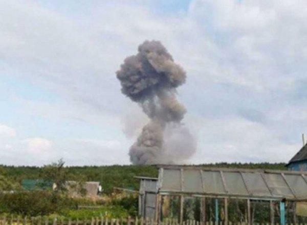 Названа причина взрывов боеприпасов под Ачинском