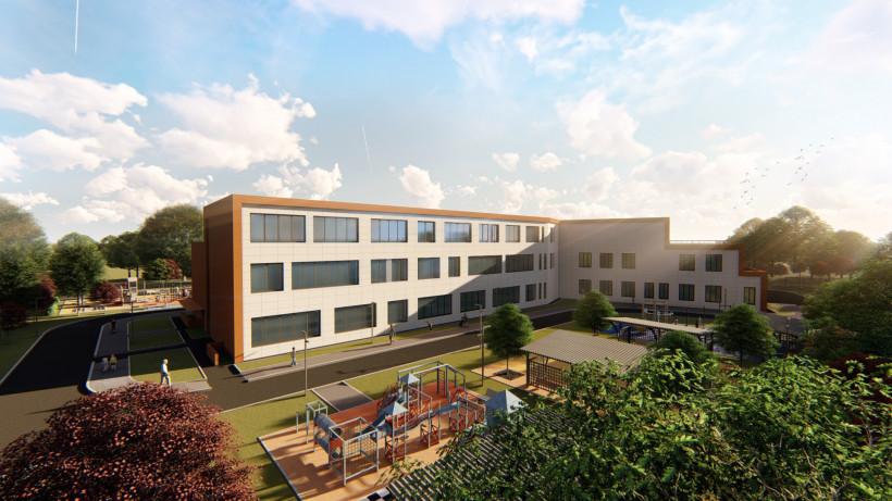 Новая школа в Малаховке заработает в 2020 году