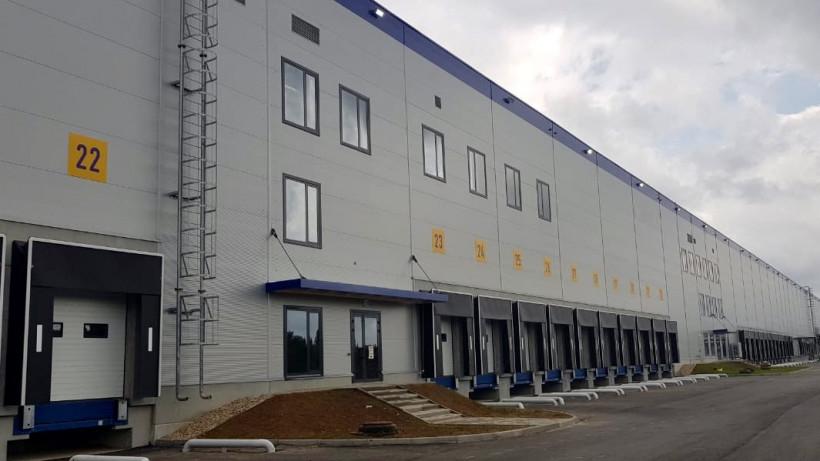 Новый корпус промышленного парка «Валищево» построили в городском округе Подольск