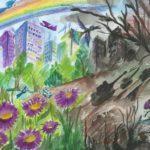 Открытие выставки детского рисунка «Дорога к миру»
