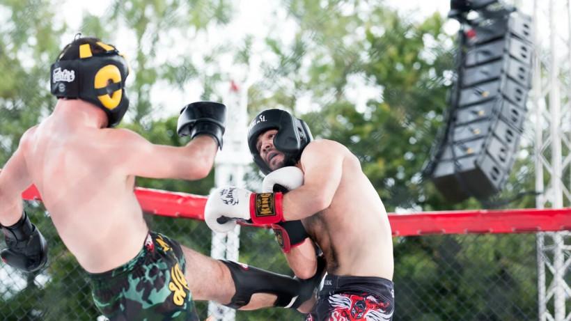 Первый международный турнир по ММА «Битва под солнцем» прошел в Солнечногорске