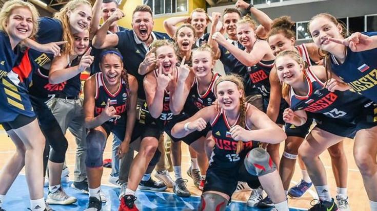 Подмосковные баскетболистки победили в чемпионате Европы U16