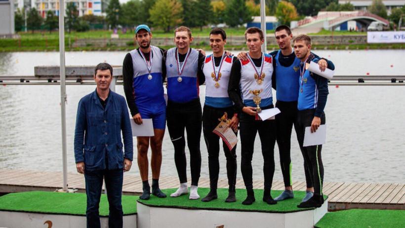 Подмосковные гребцы завоевали 8 золотых и 6 серебряных медалей на Кубке России
