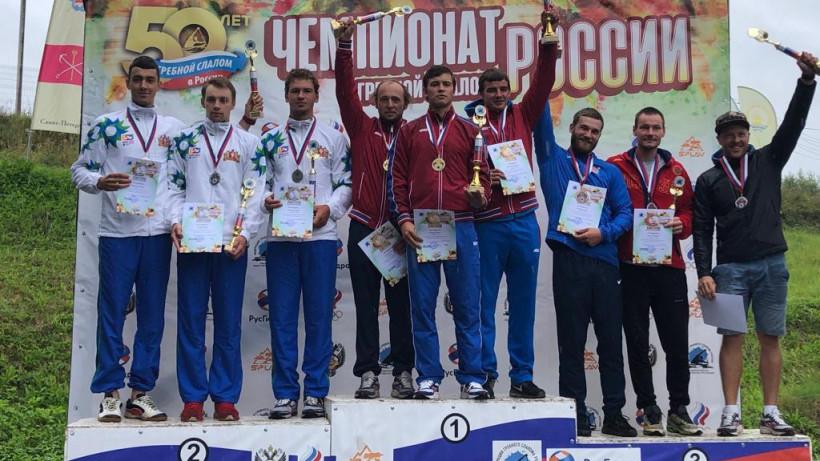 Подмосковные спортсмены завоевали 8 медалей первенства России по гребному слалому