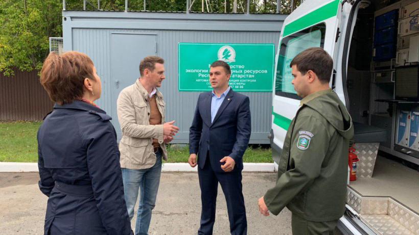 Представители Минэкологии обменялись опытом с коллегами из Татарстана